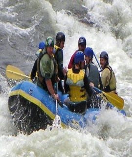 Marine Drive Rafting Packages
