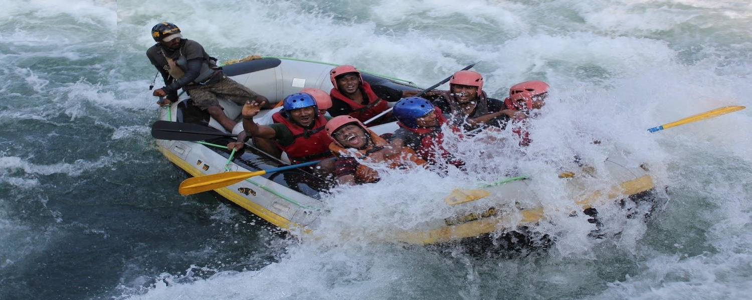 White Water River Rafting Packages